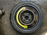 "03 SEAT IBIZA 1.2  MK4 POLO 6Q SPACE SAVER SPARE WHEEL 14"" BREAKING 1L0601025D"